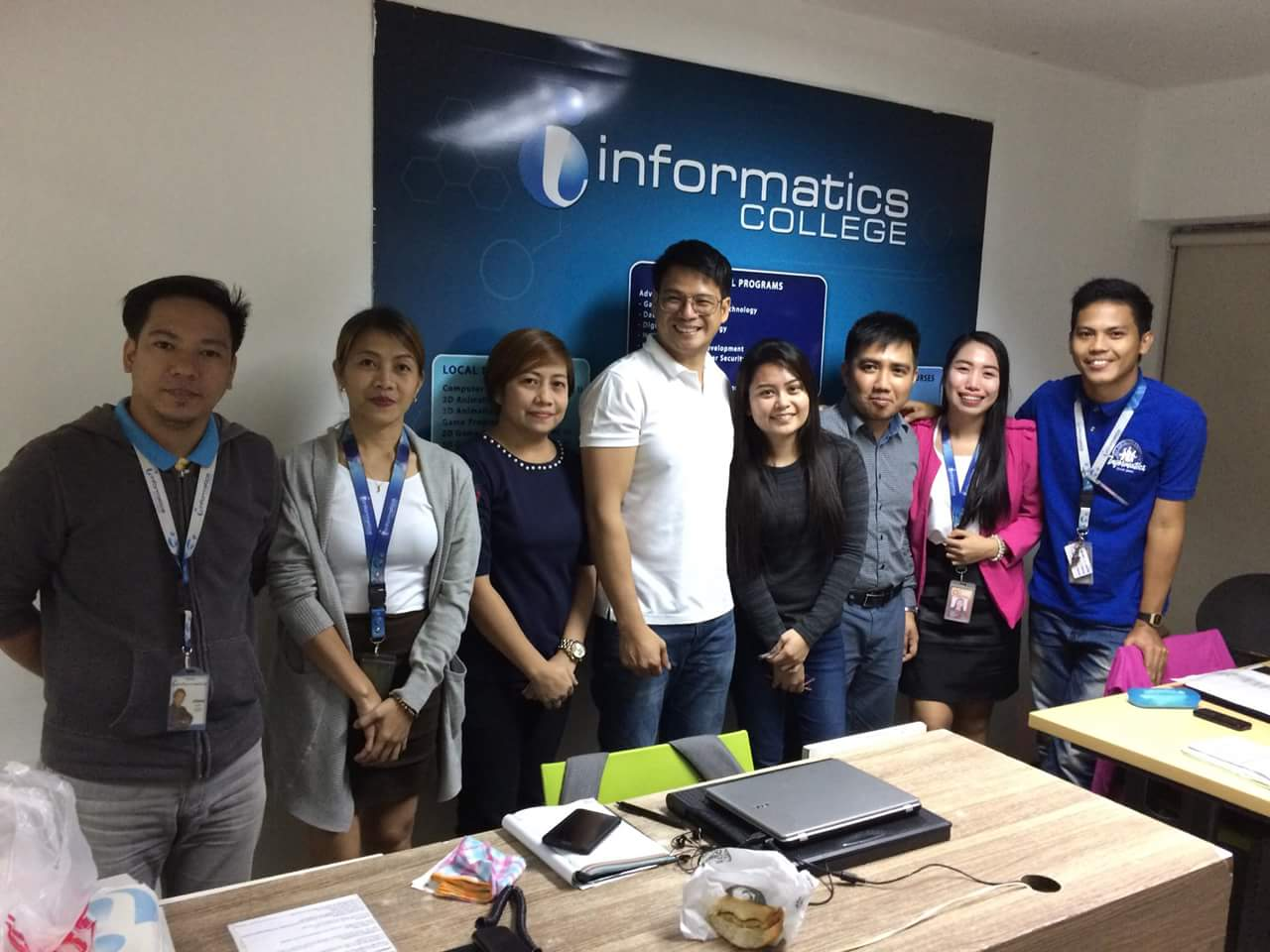 Congressman Yul Servo partners with Informatics College – Manila for educational programs within his district.