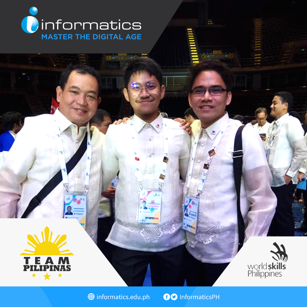 Informatics Philippines brings home Medallion of Excellence from World Skills ASEAN Competition