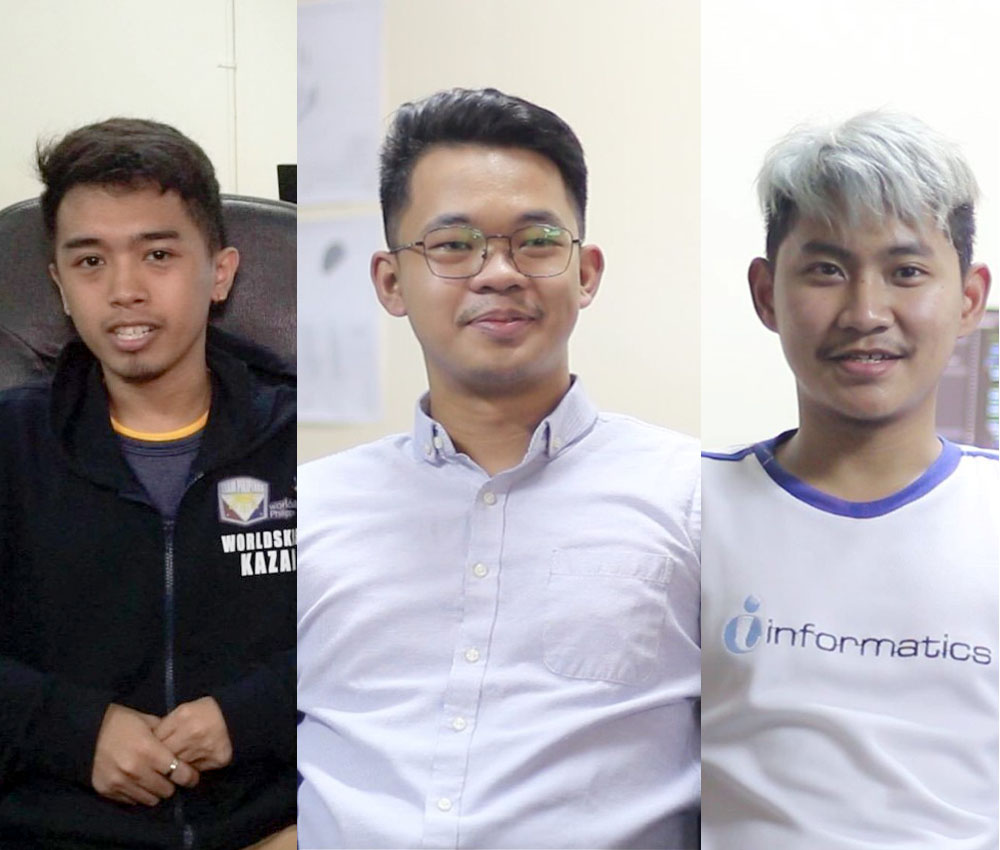Informatics Graduates represent Philippines in World Skills Competition 2019