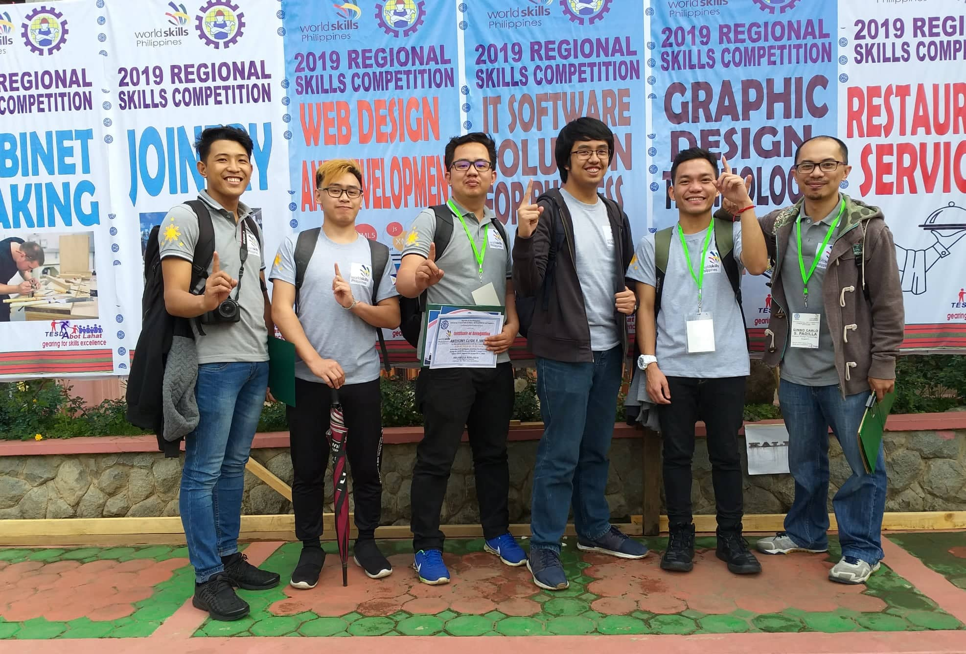 Informatics Baguio dominated the 2019 Regional Skills Competition