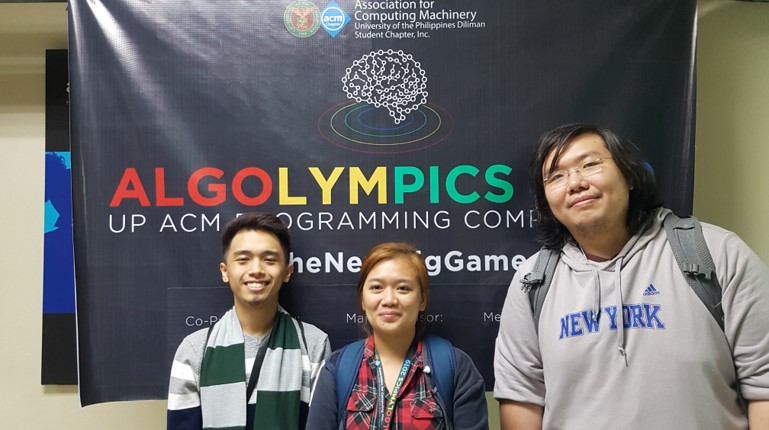 Informatics Eastwood students join ALGOLYMPICS 2019: A Programming Competition for College Students