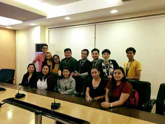 Students of AbotKayaKolehiyoProgram from Informatics College Caloocan