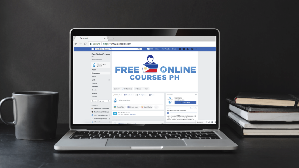 • Facebook group provides free online courses that Filipinos need in the new normal