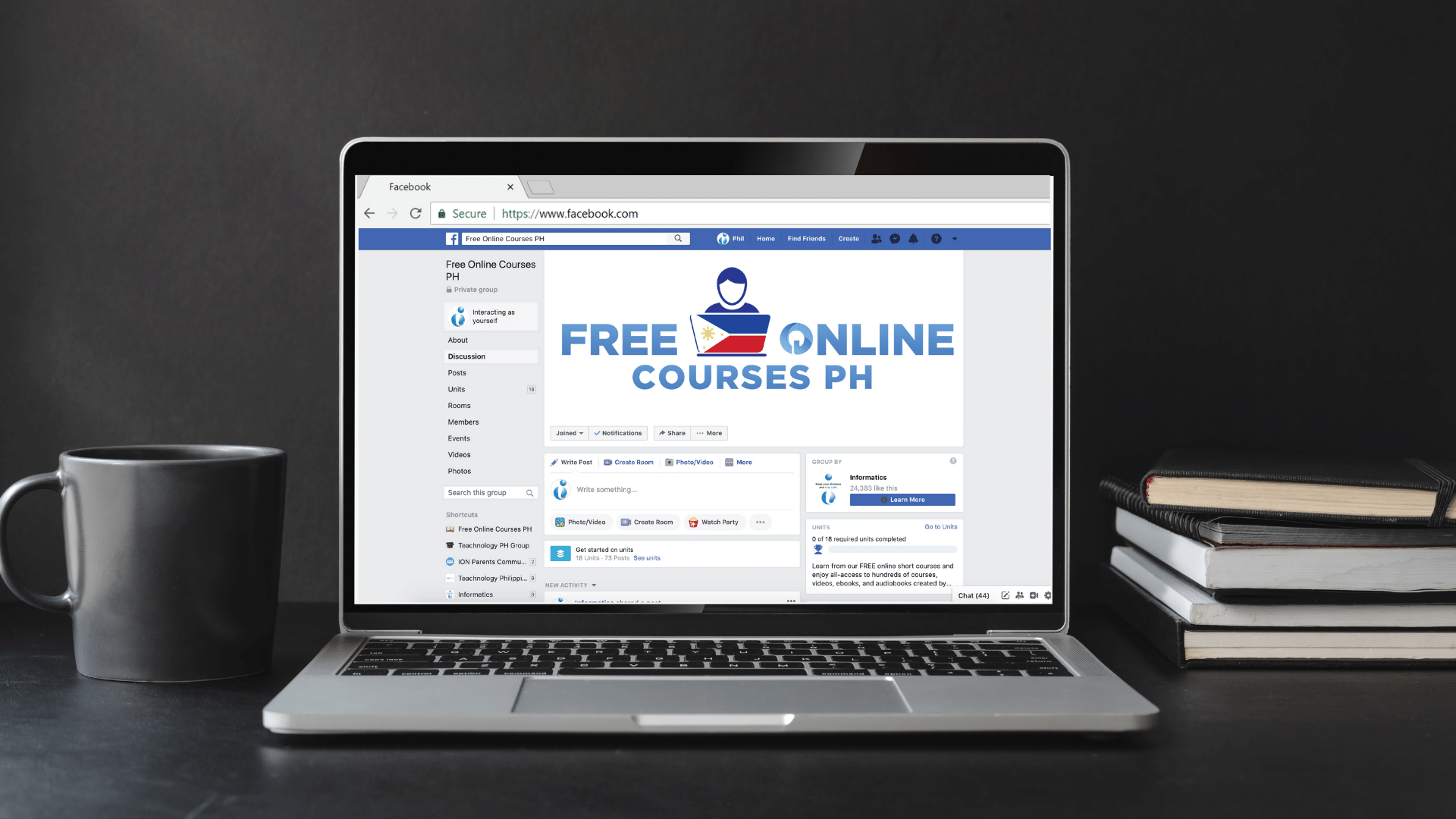 Facebook Group provides Free Online Courses that Filipinos Need in the New Normal